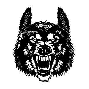 WolfHeadVectorImage